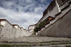 Stairway of potala Royalty Free Stock Photos