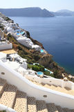 Stairway of Santorini island Royalty Free Stock Image