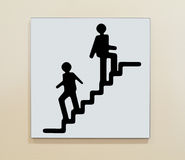 Stairway Sign Stock Images