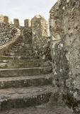 Stairway of Sintra Moorish Castle Royalty Free Stock Image