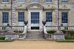 Stairway with statues and sculptured urns Royalty Free Stock Images