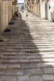 Stairway street, Malta Stock Photo