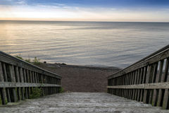 Free Stairway To Beach Royalty Free Stock Photography - 41700407