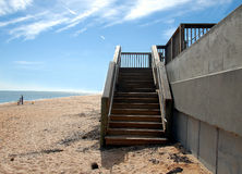 Stairway to the beach Royalty Free Stock Image