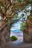 Stairway to the beach, Bali Stock Photography