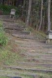 Stairway to the garden. Phetchaboon Thailand Stock Image