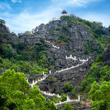 Stairway to Hang Mua view point. Ninh Binh. Vietnam Stock Image