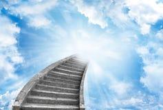 Free Stairway To Heaven Royalty Free Stock Photos - 139406458