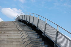 Stairway to heaven. A stairway to the sky with a cloud Stock Images