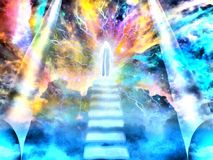 Free Stairway To Heaven Royalty Free Stock Images - 160359949