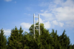 Stairway to heaven. In the sculpture park in Graz, Austria Stock Images