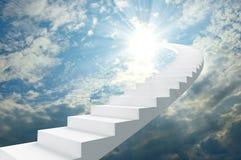 Stairway to heaven vector illustration