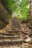 Stairway to heaven. Landscape with stairway to heaven in a hill,Thailand Royalty Free Stock Photos