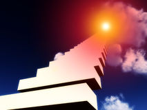 Stairway To Heaven 8 stock illustration