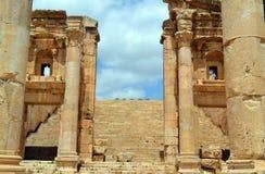 Stairway to Heaven. Ancient ruins in Jerash, Jordan stock image