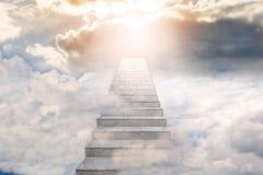 Free Stairway To Heaven. Concept Religion Stock Photos - 140955353