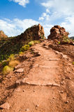 Stairway to heaven in  Grand Canyon Stock Photo
