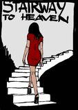 Stairway to heaven Royalty Free Stock Images