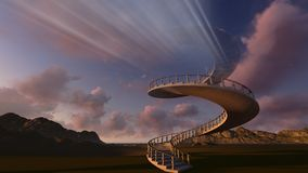 Stairway to heaven Stock Images