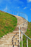Stairway to Heaven. In sunny day Stock Image