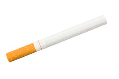 Stairway to hell out of cigarettes Royalty Free Stock Images