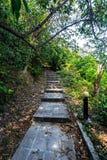 Stairway to Hill at Koh Maiton island. Phuket,Thailand Stock Photography