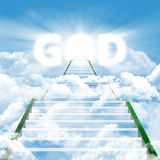 Stairway to meet by the GOD Stock Images