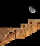Stairway to the Moon Royalty Free Stock Photos