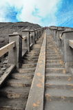 stairway to Mount Bromo Stock Photography
