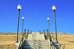 Stairway to Nowhere Royalty Free Stock Photography