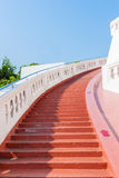 A stairway to pagoda Stock Photography