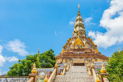 Stairway to Phasornkaew Temple ,Khao Kho Phetchabun Royalty Free Stock Photography