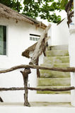 Stairway to room. View of stairway to second floor Royalty Free Stock Photo
