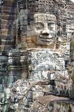Stairway to rule. Stairway past face of a king bayon temple angkor Stock Photography