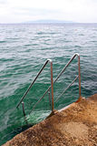 Stairway to sea Stock Photo