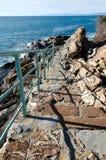 Stairway to the sea Stock Photos