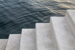 Stairway to sea Royalty Free Stock Photography
