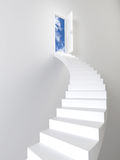 Stairway to the sky Royalty Free Stock Photography