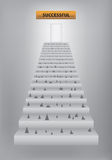 Stairway to success Royalty Free Stock Photo