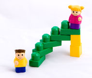 Stairway to success #3 Stock Photography