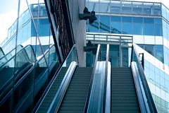 Stairway to success. royalty free stock photos