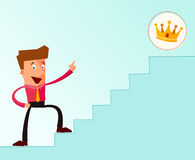 Stairway to the success Royalty Free Stock Images