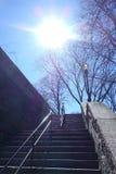 Stairway to the Sun Stock Photo