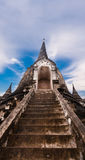 Stairway to top of pagoda Stock Image