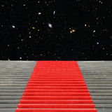 Stairway to the universe Stock Image
