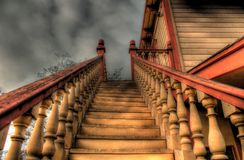 Stairway to the unknown Stock Photography