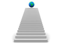 Stairway to world Royalty Free Stock Photography