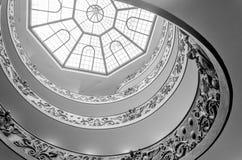 Stairway in Vatican Museum Stock Image