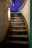 Stairway velho Imagem de Stock Royalty Free