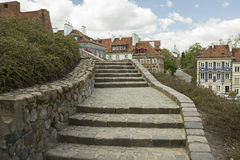 Stairway In Warsaw, Poland Royalty Free Stock Image